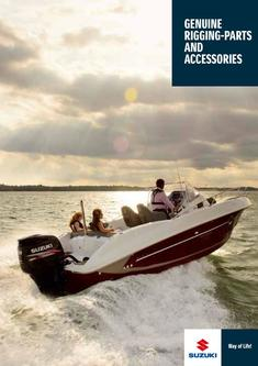 Suzuki Marine Genuine Rigging-Parts And Accessories Catalog 2014