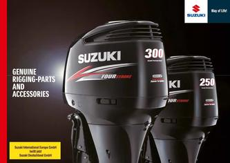 Suzuki Marine Genuine Rigging-Parts And Accessories Catalog 2015