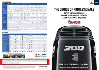 Suzuki Outboards - The Choice of Professionals 2017