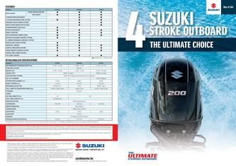 Suzuki 4-Stroke Outboard - The Ultimate Choice 2018