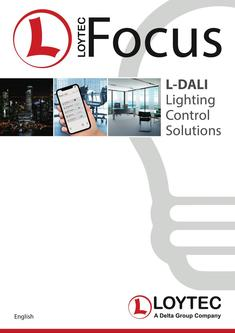 L-FOCUS: L-DALI Lighting Control Solutions 2018