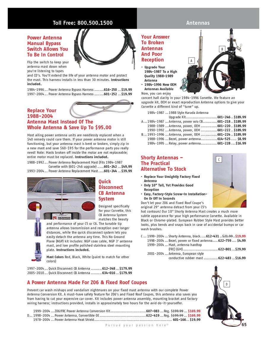 Page 65 of 2010 Corvette Parts