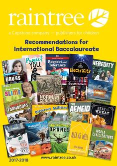 Recommendations for the International Baccalaureate