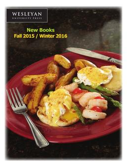 Fall 2015 New Books
