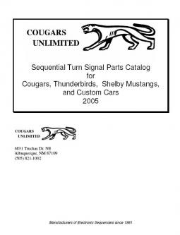Sequential Turn Signal Parts Catalog