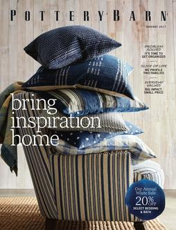 Pottery Barn January 2017