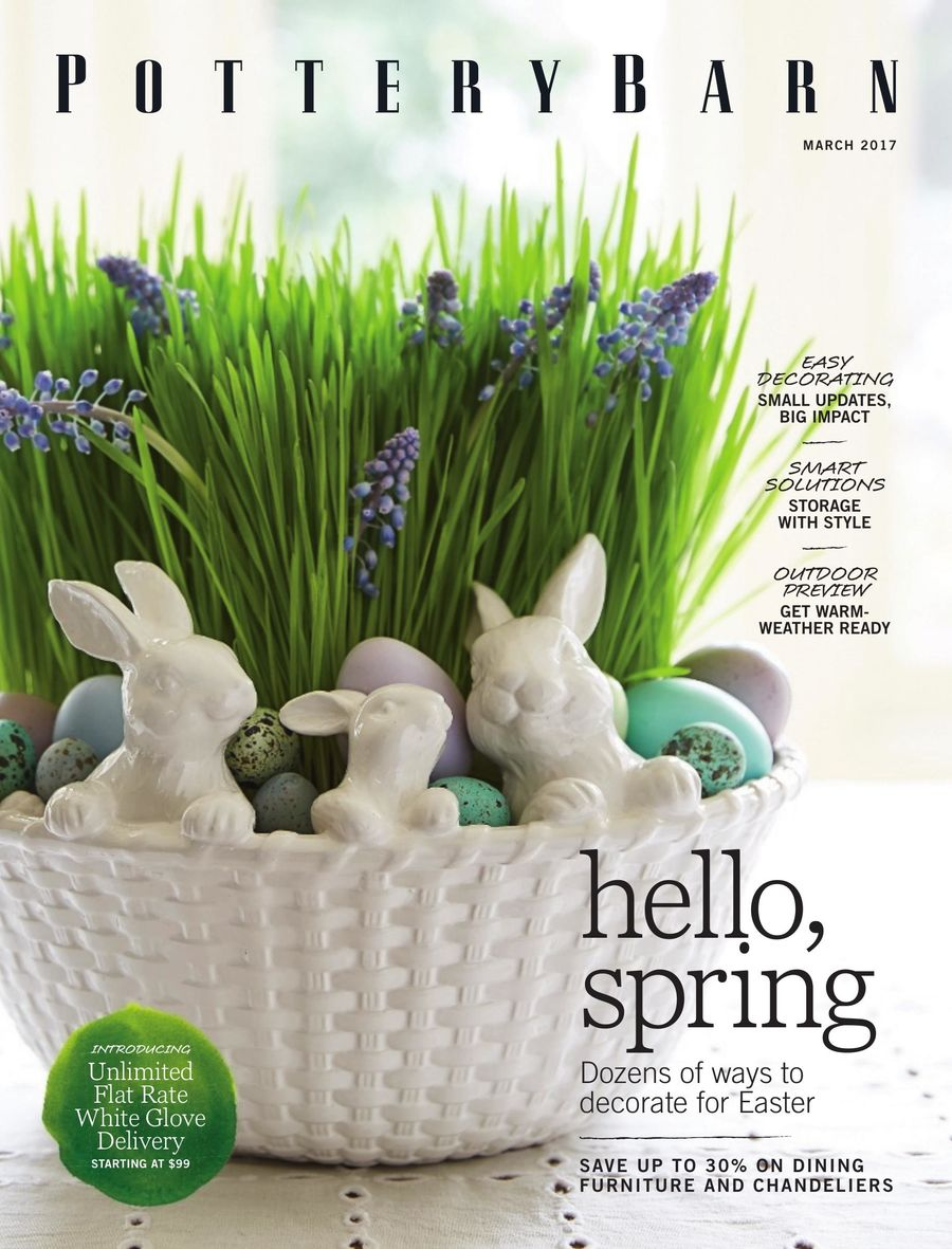Pottery Barn March 2017 By