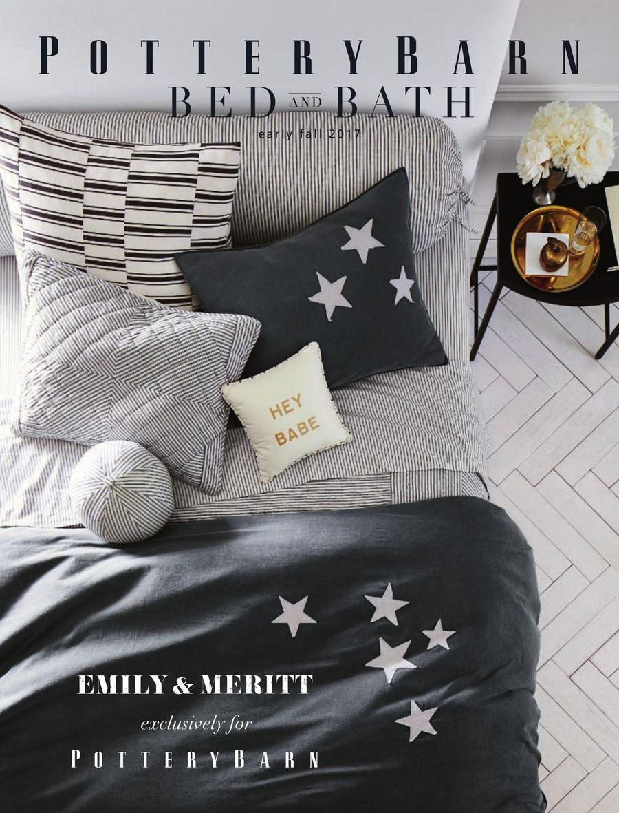 Bed Bath Early Fall 2017 By Pottery Barn