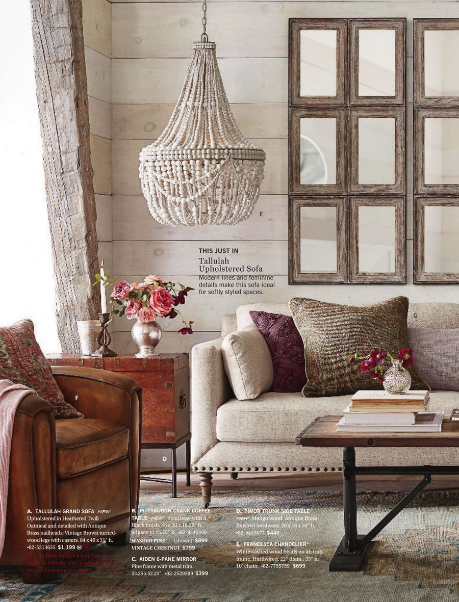 Pottery Barn August 2017 By Pottery Barn