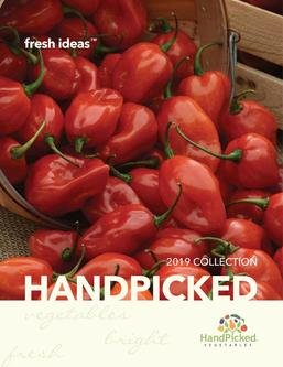 PanAmerican Seed Handpicked Vegetables 2019