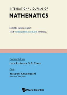 International Journal of Mathematics