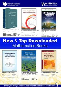 New & Top Downloaded Mathematics Books