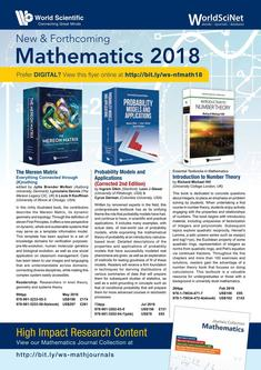 New & Forthcoming Mathematics 2018