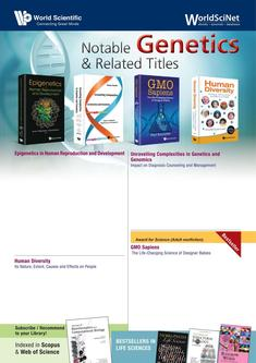 Notable Genetics & Related Titles 2018