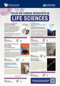 Titles on Famous Scientists in Life Sciences