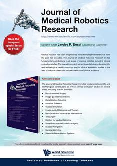 Journal of Medical Robotics Research