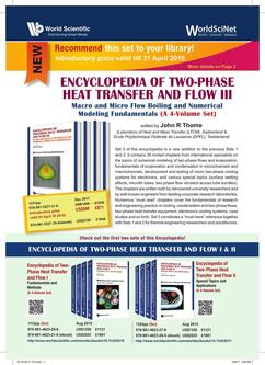 Encyclopedia of Two-Phase Heat Transfer and Flow III