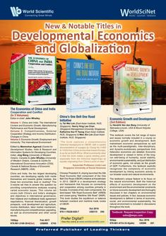 New & Notable Titles in Developmental Economics and Globalization 2018