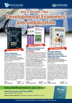 New & Notable Titles in Development Economics and Globalization 2018