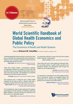 World Scientific Handbook of Global Health Economics and Public Policy 2018