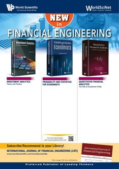 New in Financial Engineering 2018