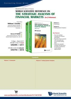 World Scientific Reference on the Strategic Analysis of Financial Markets 2018