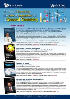 All about Chemistry:The new & bestseller list in General Chemistry 2018