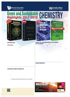 Green and Sustainable Chemistry: Highlights 2017-2018