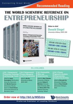 The World Scientific Reference on Entrepreneurship 2018