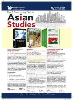 New & Forthcoming Titles in Asian Studies 2018