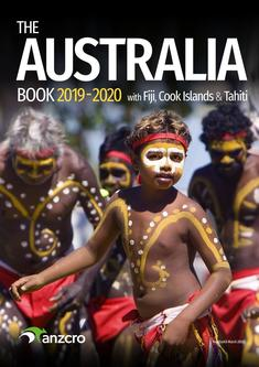 Australia Books 2019/2020 with Fiji, Cook Islands & Tahiti