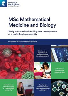 MSc Mathematical Medicine and Biology 2018