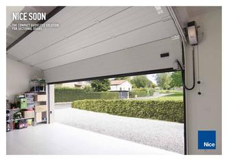 Soon, the compact guideless solution for sectional doors 2018
