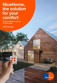 NiceHome, the solution for your comfort 2018
