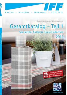 Napkins, Airlaid & Tissue Collection 2019/2020