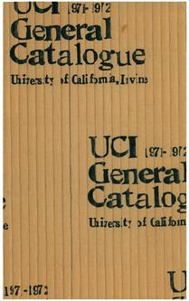 1971-1972 Education Catalogue