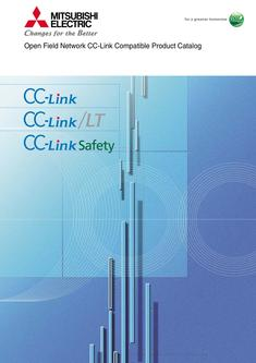 Open Field Network CC-Link Compatible Product Catalog 2016-09-15