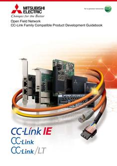 CC-Link Family Compatible Product Development Guidebook 2016-09-15