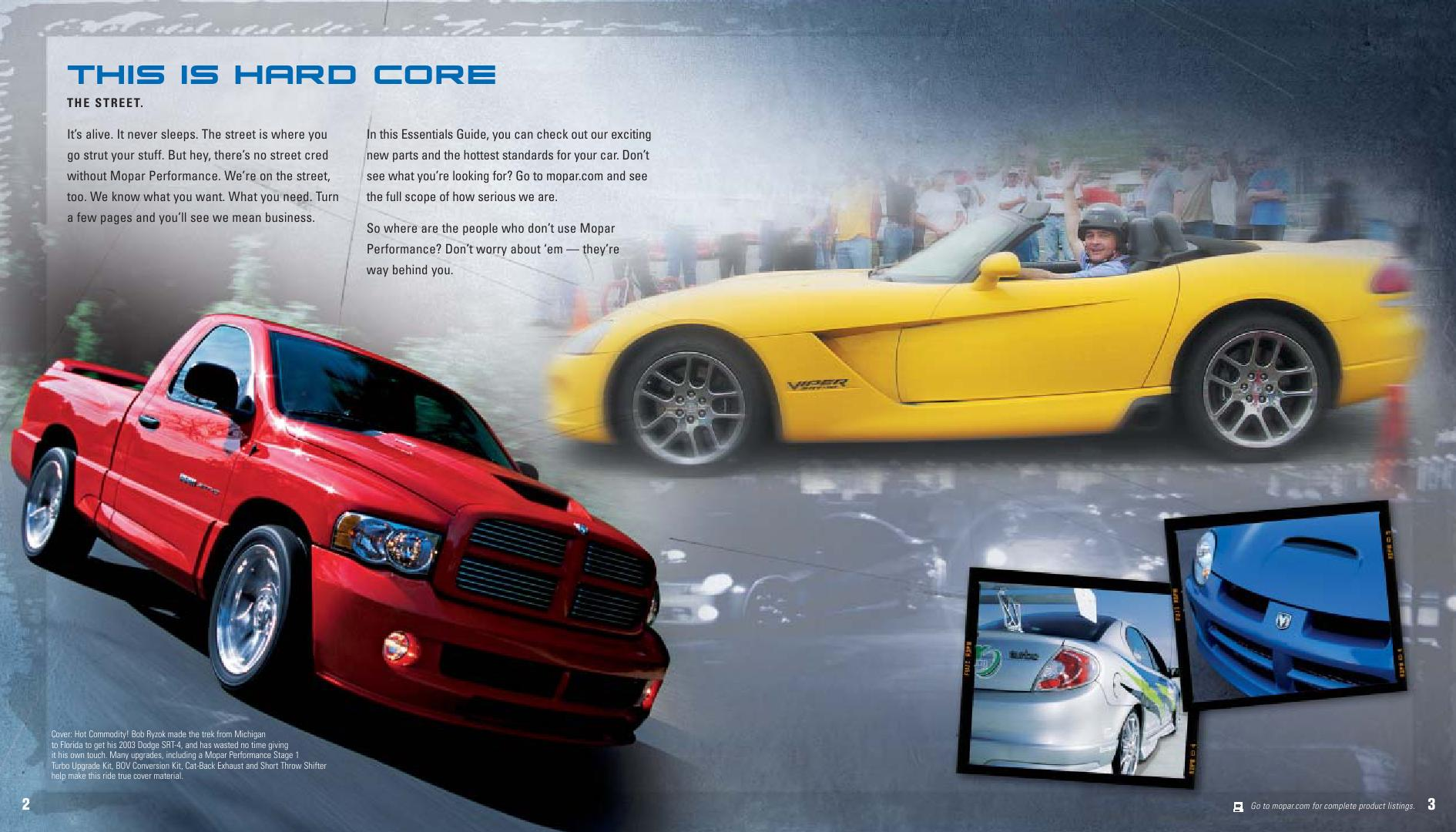 Tuning Parts Catalog Dodge Chrysler Jeep By Mopar 98 Neon