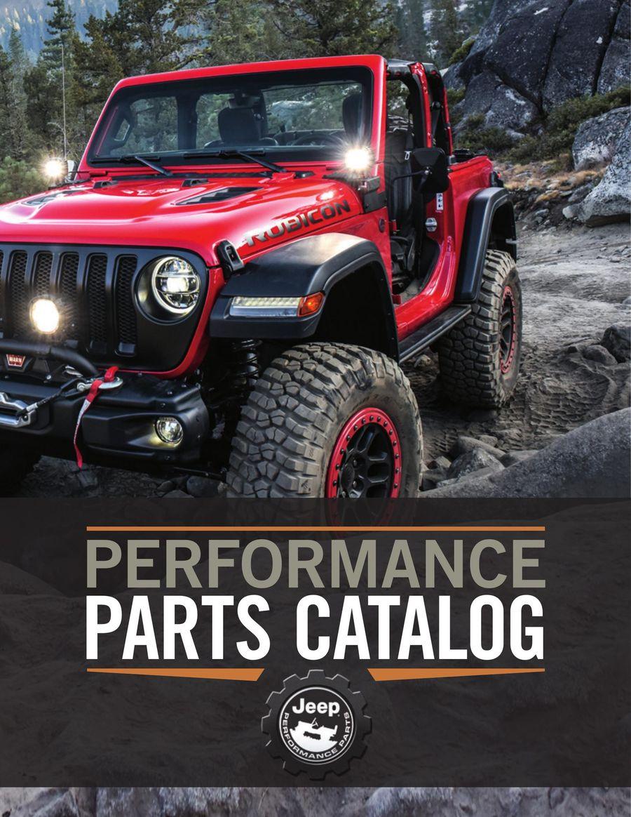 Jeep Performance Parts >> Jeep Performance Parts 2019 By Mopar