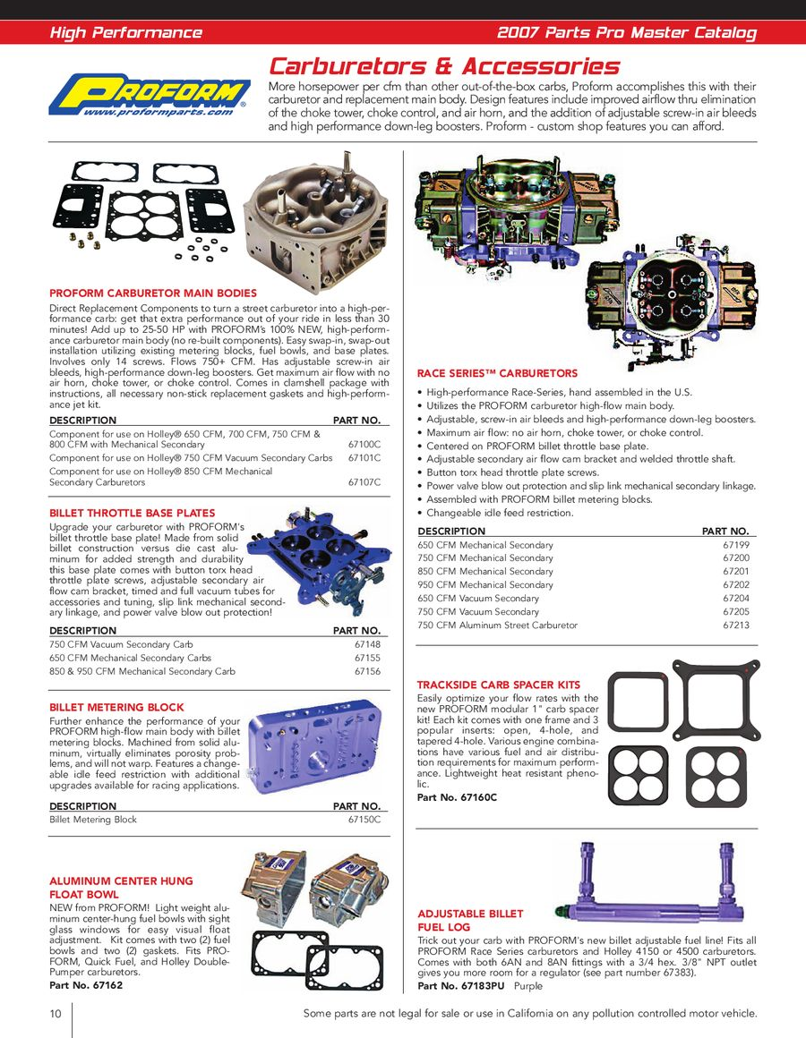 Page 8 Of Performance Fuel System 2007