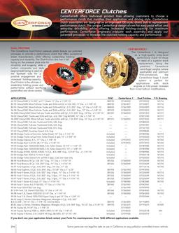 Truck and SUV Clutches and Shifters 2008