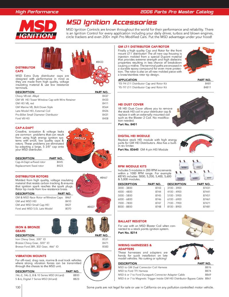 Page 16 of Ignition and Electrical