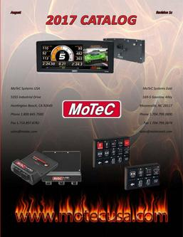 2017 MoTeC Catalog - Rev 1c