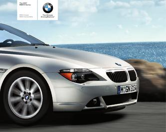 BMW 6 Series Coupe and Convertible 2007