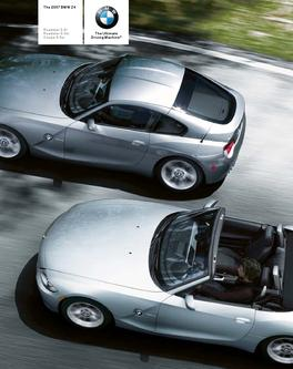 BMW Z4 Roadster and Coupe 2007