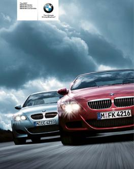 BMW M5 Sedan and M6 Coupe/Convertible 2007