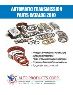 Automatic Transmission Parts 2010