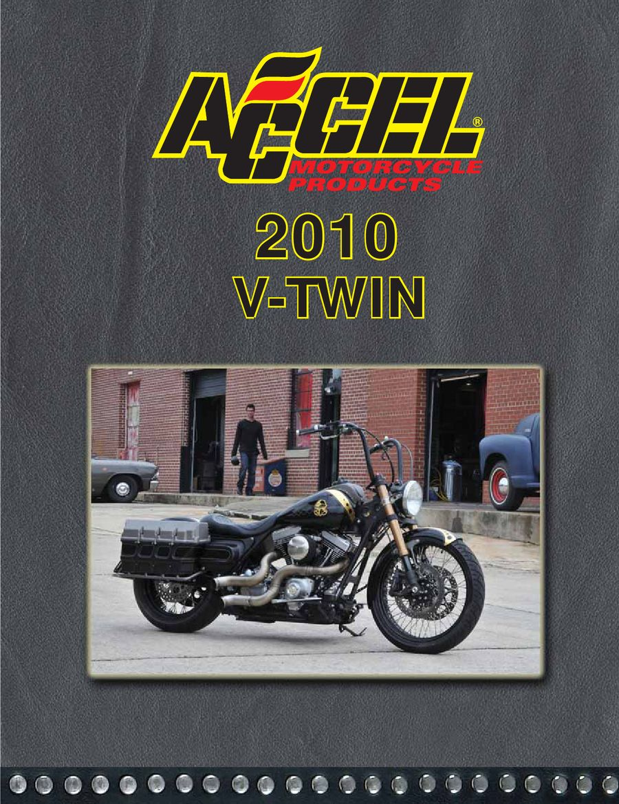 Motorcycle V Twin Parts 2010 By Accel Products Ct 100 Bike Wiring Diagram