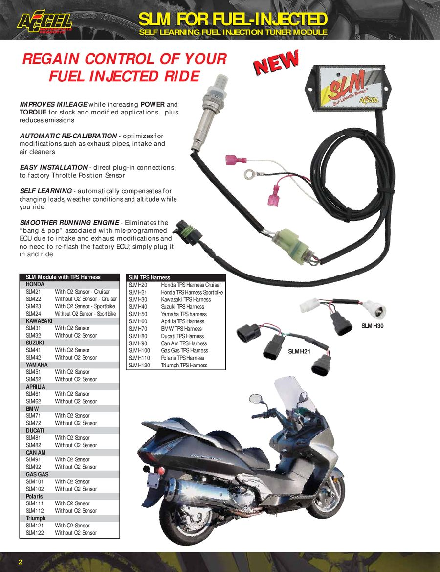 Motorcycle (Metric) Parts 2010 by Accel Motorcycle Products